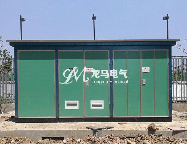 欧式彩钢板景观箱变