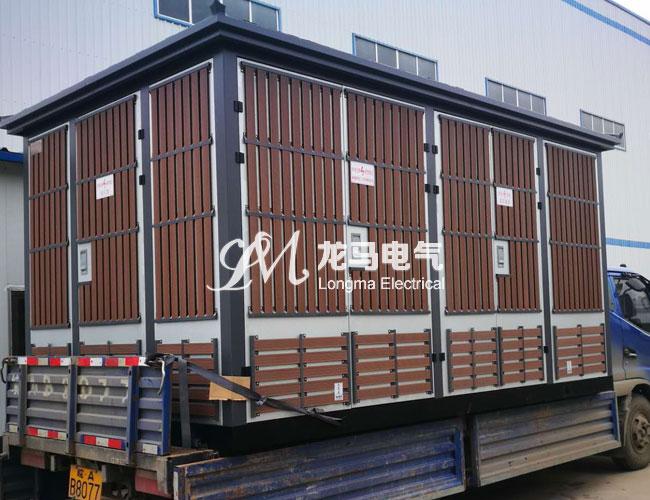 欧式敷铝锌挂木条箱变
