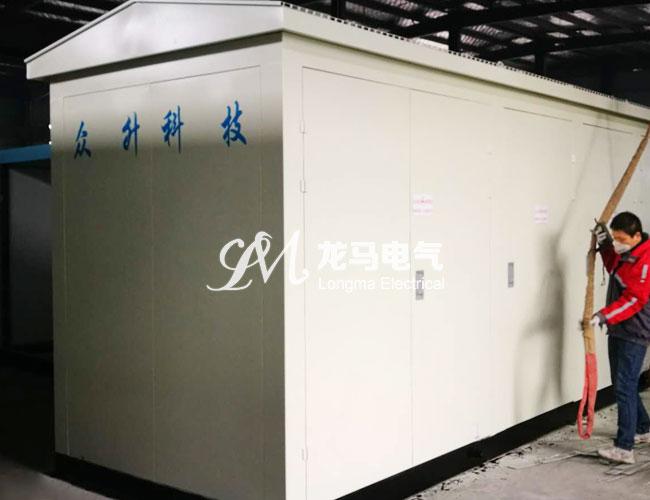 双层镀锌板欧式箱变-安徽众升电力科技有限公司采购